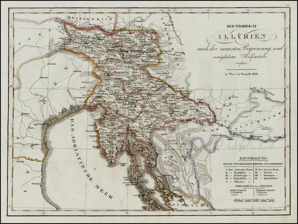 75-Austria and Balkans Map By Tranquillo Mollo