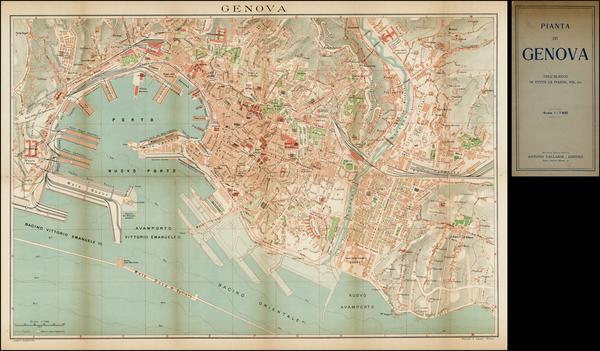 16-Italy Map By Antonio Vallardi