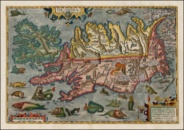 75-World, Atlantic Ocean, Iceland, Balearic Islands, Curiosities and Comic & Anthropomorphic M