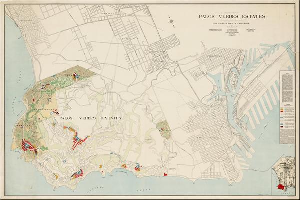33-California Map By Charles Henry Cheney / J.G. Langdon