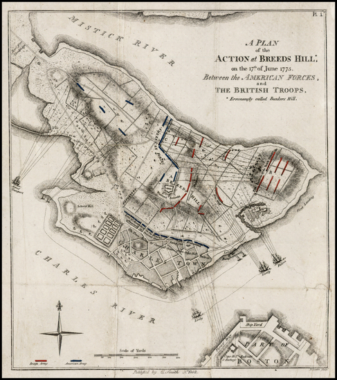 36-New England and Massachusetts Map By Charles S. Smith