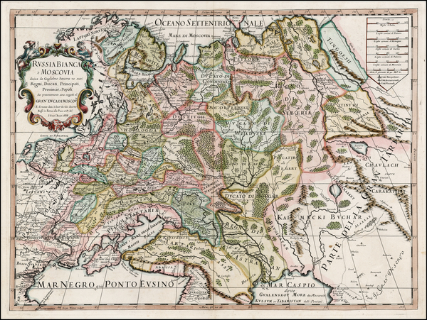 43-Russia and Ukraine Map By Giacomo Giovanni Rossi