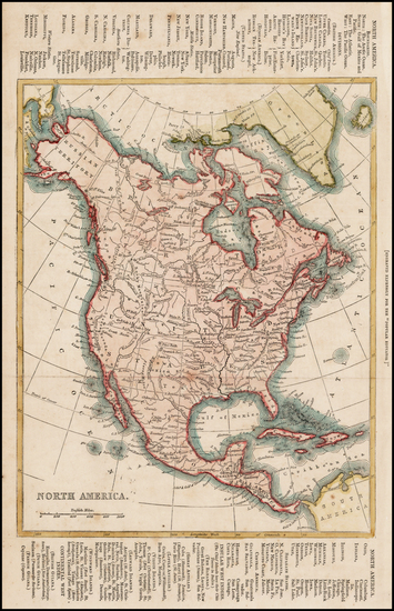 61-Alaska and North America Map By Anonymous