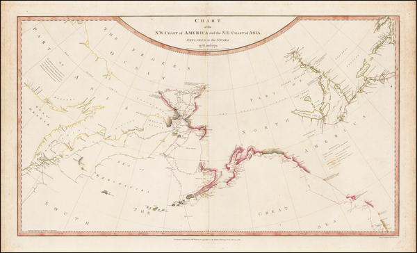 11-Alaska, Canada, Pacific and Russia in Asia Map By William Faden