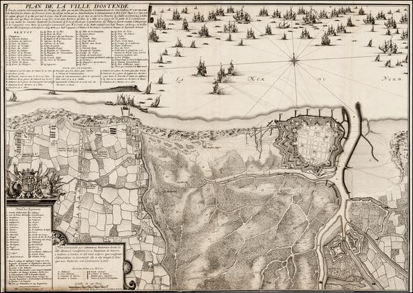 63-Belgium Map By Eugene Henri Fricx