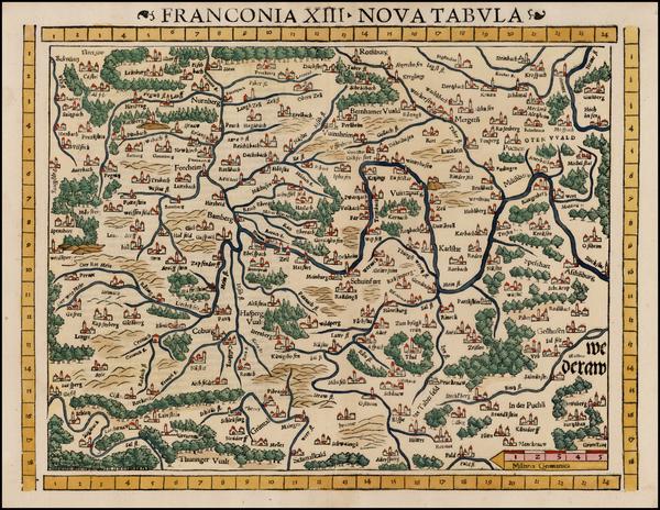 71-Germany Map By Sebastian Munster