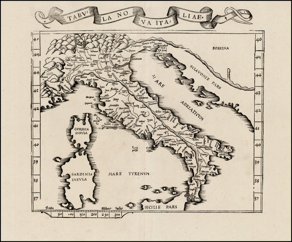 46-Italy Map By Lorenz Fries