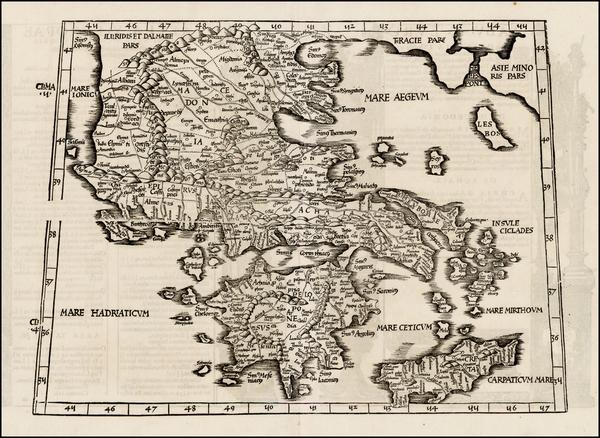 18-Greece Map By Lorenz Fries
