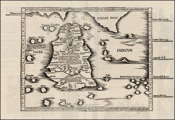 25-India and Other Islands Map By Lorenz Fries