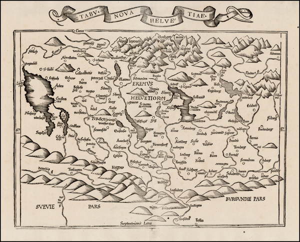37-Switzerland Map By Lorenz Fries