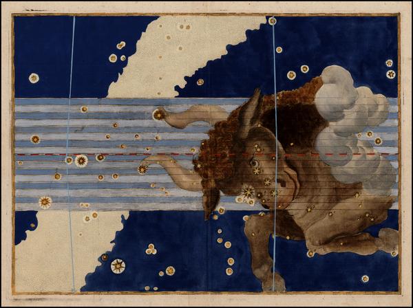 100-Celestial Maps Map By Johann Bayer