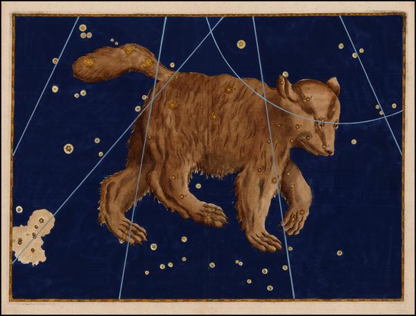 23-Celestial Maps Map By Johann Bayer