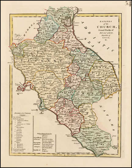 24-Italy Map By Robert Wilkinson