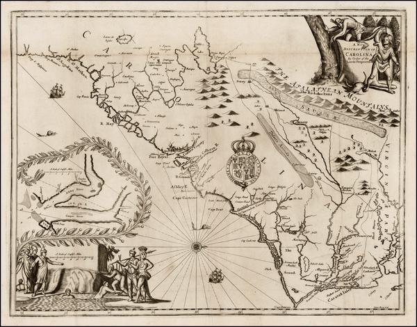 38-Southeast Map By John Ogilby - James Moxon