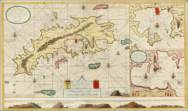 39-Caribbean and Virgin Islands Map By Gerard Van Keulen