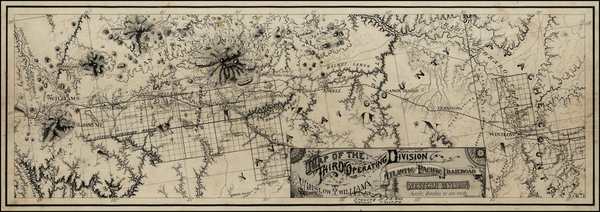 4-Southwest and California Map By