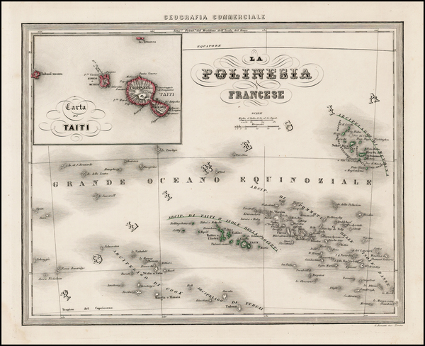 15-Australia & Oceania, Oceania and Other Pacific Islands Map By Francesco Marmocchi