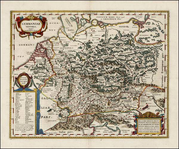 26-Netherlands, Germany, Austria, Poland, Hungary and Czech Republic & Slovakia Map By Jan Jan