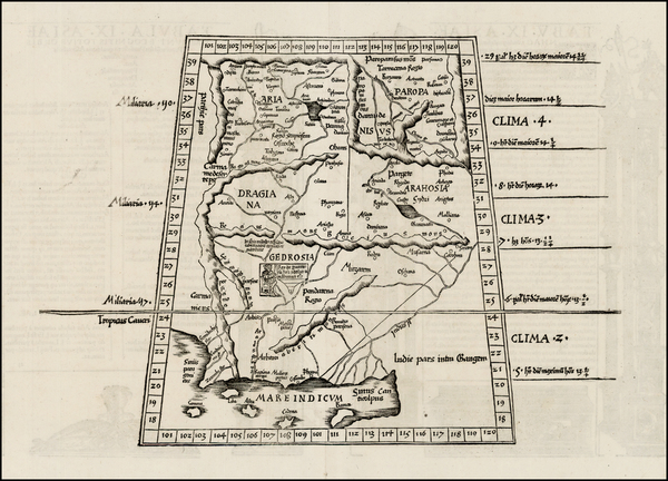 56-India and Central Asia & Caucasus Map By Lorenz Fries