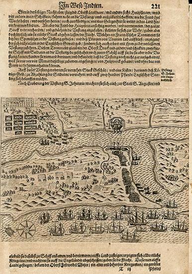 68-Southeast Map By Theodor De Bry
