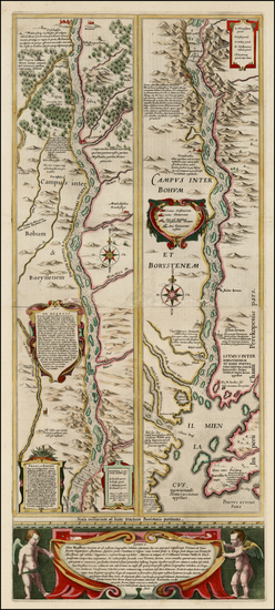 27-Russia and Ukraine Map By Willem Janszoon Blaeu