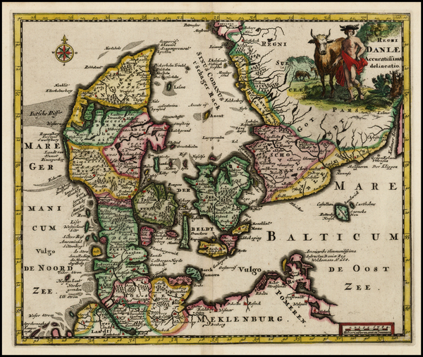 27-Scandinavia Map By Philipp Clüver
