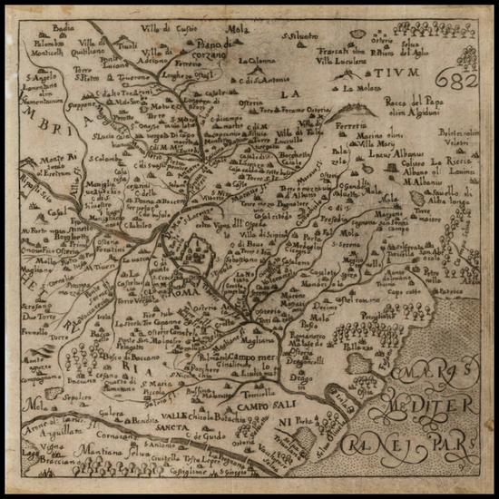 92-Rome Map By Francesco Scoto
