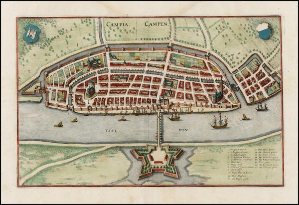 7-Netherlands Map By Matheus Merian