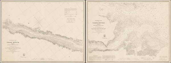 40-Virginia Map By United States Coast Survey
