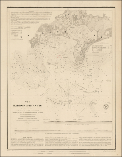 57-Maine Map By United States Coast Survey