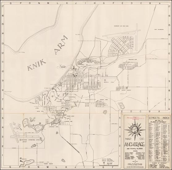 69-Alaska Map By D.M. Stone