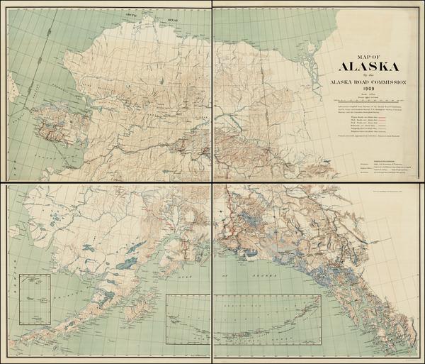50-Alaska Map By United States Coast Survey