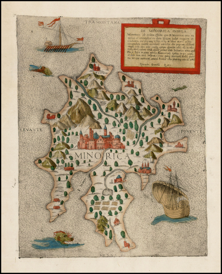 28-Spain and Balearic Islands Map By Ferrando Bertelli