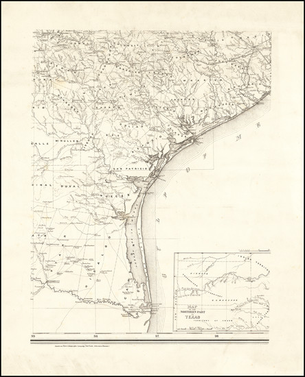 67-Texas Map By Charles Pressler