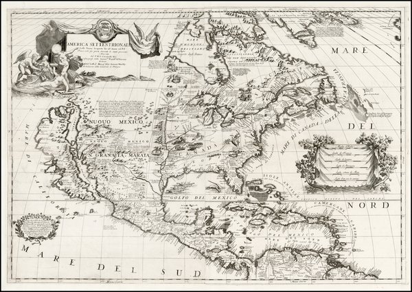 73-United States, Texas, Midwest, Southwest, North America and California Map By Vincenzo Maria Co