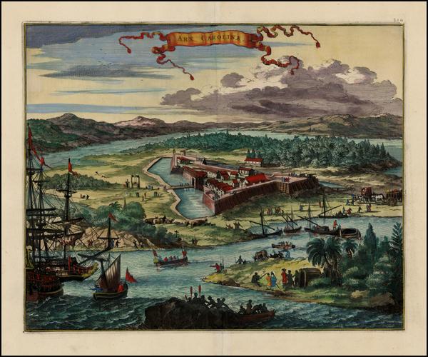 90-Southeast Map By John Ogilby