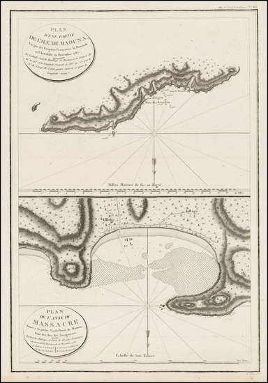 Other Pacific Islands Map By Jean Francois Galaup de La Perouse