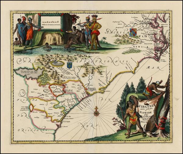 9-Southeast Map By John Ogilby