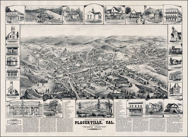 41-Other California Cities Map By W.W. Elliott & Co.
