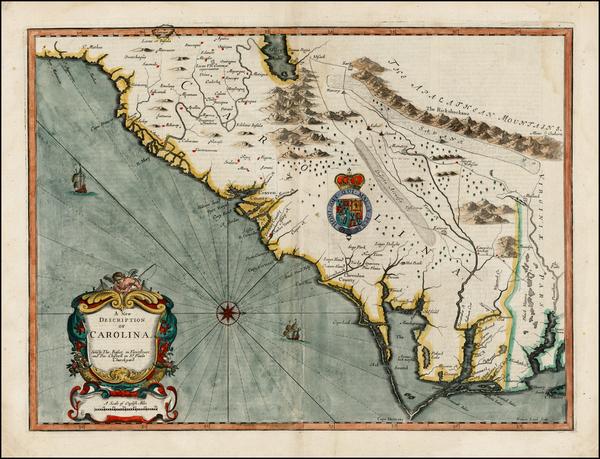 44-Southeast Map By John Speed