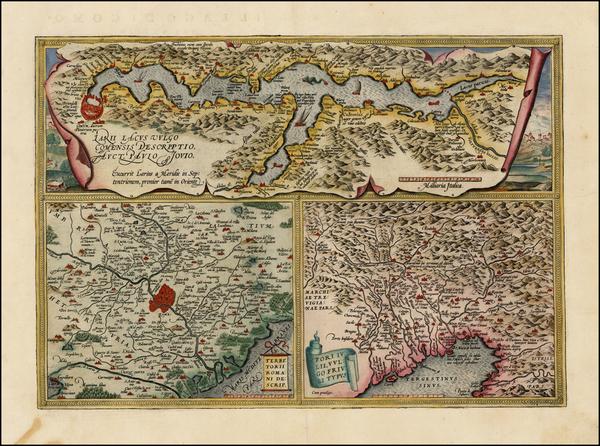 1-Italy Map By Abraham Ortelius