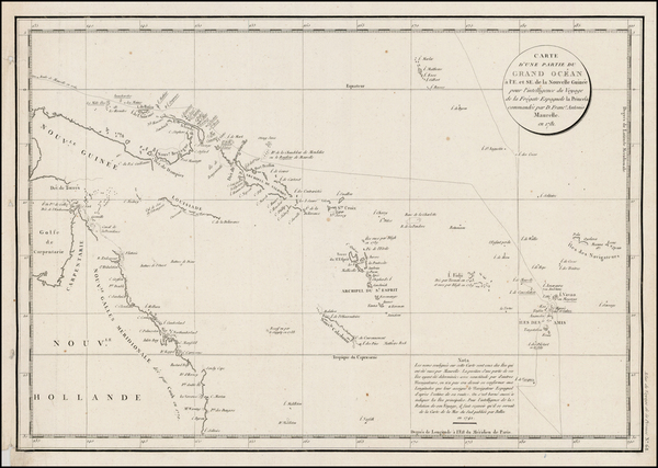 83-Southeast Asia, Other Islands, Australia and Other Pacific Islands Map By Jean Francois Galaup