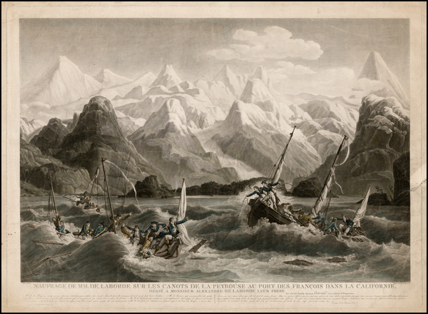 37-Alaska Map By Louis Philippe Crepin