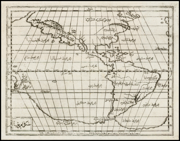 33-Polar Maps, North America, South America, Australia & Oceania, Pacific, Australia, Oceania