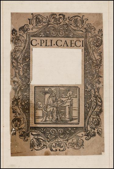 33-Title Pages Map By C. Pli'nius Caeci'lius Secundus