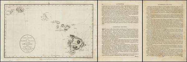 93-Hawaii and Hawaii Map By Harrison & Co.