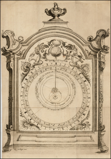 6-Curiosities and Celestial Maps Map By Ignaz Frey