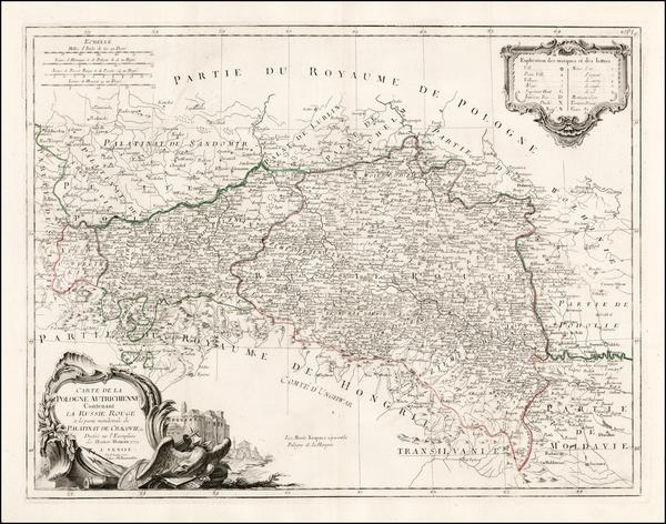 24-Poland, Ukraine, Hungary, Romania and Czech Republic & Slovakia Map By Paolo Santini