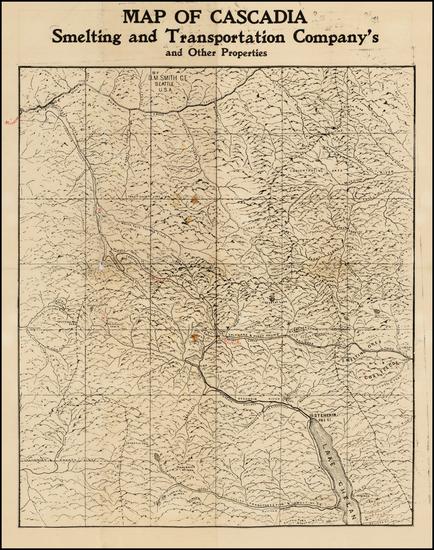 83-Washington Map By