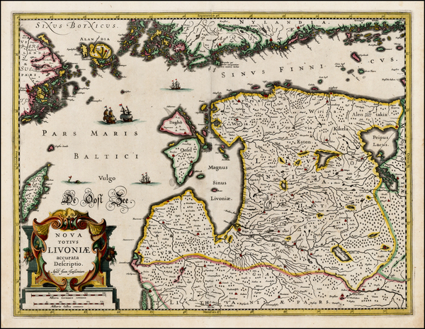 36-Baltic Countries and Scandinavia Map By Jan Jansson